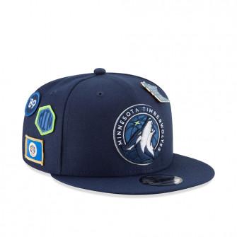 New Era Minnesota Timberwolves NBA Draft 9FIFTY Hat