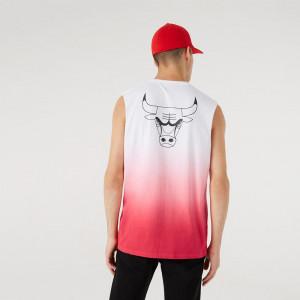 Kratka majica New Era NBA Drip Dye Chicago Bulls ''Red''