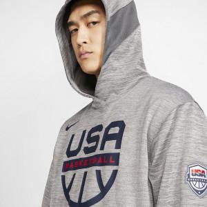 Hoodie Nike USA Basketball Spotlight ''DK Grey Heather''