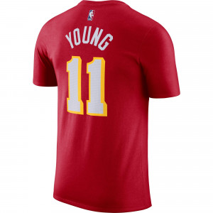 Kratka majica Nike NBA Trae Young Atlanta Hawks ''University Red''