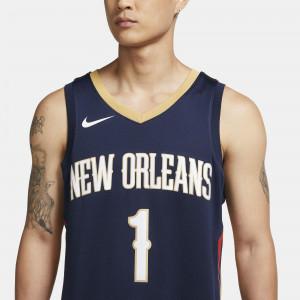 Dres Nike NBA Zion Williamson Pelicans Icon Edition Swingman ''College Navy''