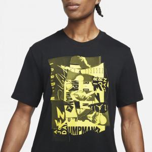 Kratka majica Air Jordan Jumpman Flight ''Black/Tour Yellow''