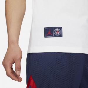 Kratka majica Air Jordan Paris Saint-Germain Logo ''White''