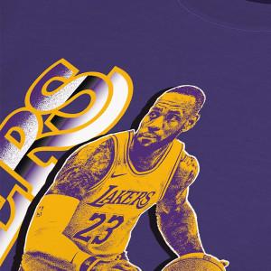 Kratka majica Nike NBA Lebron James Select Series ''Purple''