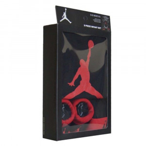 Dječji set Air Jordan Jumpman ''Black/University Red''