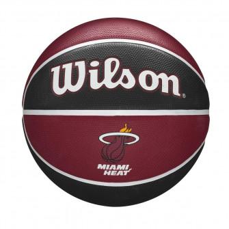 Košarkaška lopta Wilson NBA Miami Heat Team Tribute Outdoor (7)