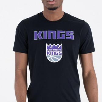 Kratka majica New Era NBA Sacramento Kings Team Logo ''Black''