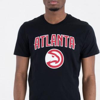 Kratka majica New Era NBA Atlanta Hawks Team Logo ''Black''