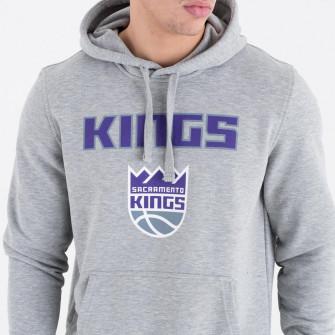 Hoodie New Era NBA Sacramento Kings Team Logo ''Grey''