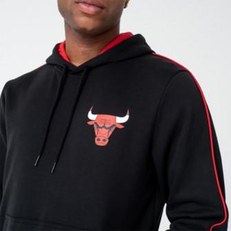 Hoodie New Era Chicago Bulls Striped ''Black''