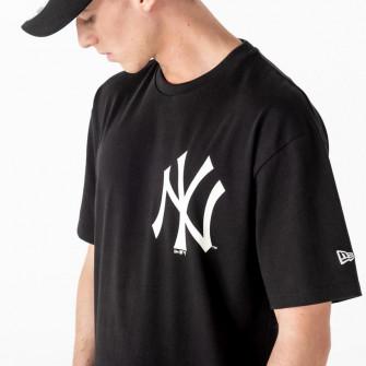 Kratka majica New Era MLB NY Yankees Big Logo Oversized ''Black''