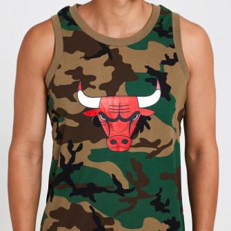 Kratka majica New Era Chicago Bulls Vest ''Camo''