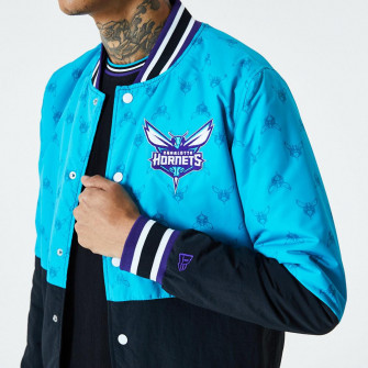 Jakna New Era Charlotte Hornets Colour Block ''Blue''