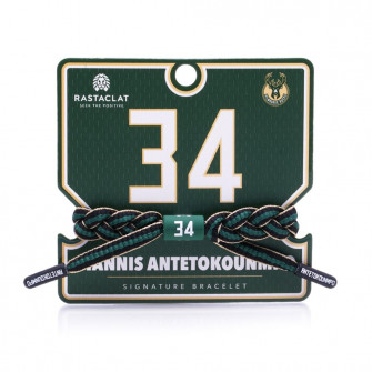 Narukvica Rastaclat NBA Milwaukee Bucks Signature ''Giannis Antetokounmpo''