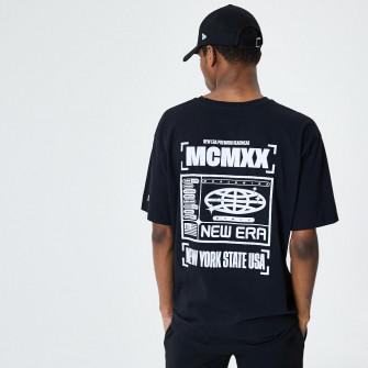 Kratka majica New Era Contrast Graphic ''Black''