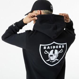 Hoodie New Era NFL Las Vegas Raiders Logo ''Black''
