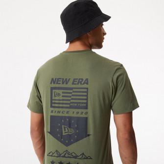 Kratka majica New Era Outdoor Utility Graphic ''Khaki Green''
