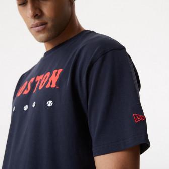 Kratka majica New Era MLB Boston Red Sox Heritage Oversized ''Navy''