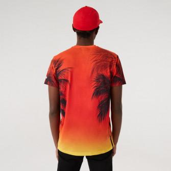Kratka majica New Era Summer City Print Chicago Bulls ''Sunset Fade''