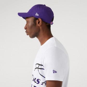 Kratka majica New Era Oil Slick Logo Infill Los Angeles Lakers ''White''