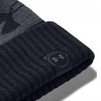 Zimska kapa UA Big Logo Pom ''Black/Grey''