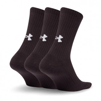 Čarape Under Armour Core Crew 3-Pack ''Black''