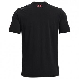 Kratka majica UA Vertical Wordmark ''Black''
