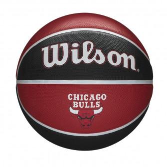Košarkaška lopta Wilson NBA Chicago Bulls Team Tribute Outdoor (7)