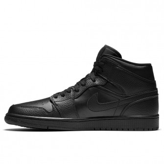 Air Jordan 1 Mid ''Triple Black''