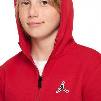 Dječji hoodie Air Jordan Jumpman Full-Zip ''Gym Red''
