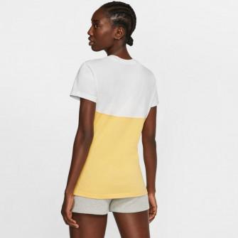 Ženska kratka majica Nike Sportswear Heritage ''Topaz Gold/White''