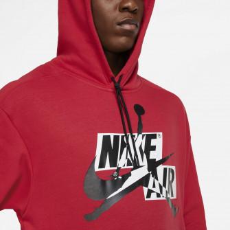 Air Jordan Jumpman Classics Fleece Pullover Hoodie ''Red''