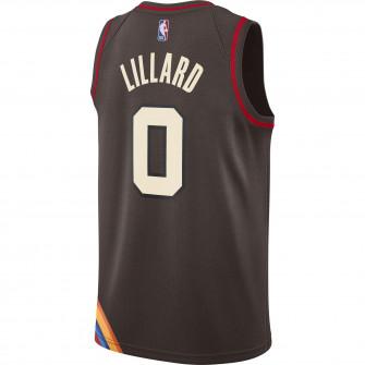 Dres Nike NBA City Edition Portland Trail Blazers Damian Lillard ''Dark Cinder''