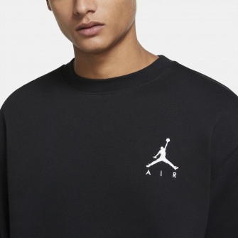 Air Jordan Jumpman Fleece Crew Sweatshirt ''Black''