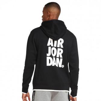 Hoodie Air Jordan Jumpman Classics Printed Fleece ''Black''