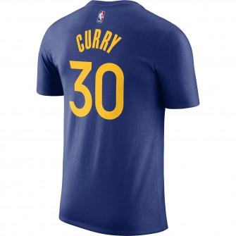 Kratka majica Nike NBA Stephen Curry Golden State Warriors ''Rush Blue''