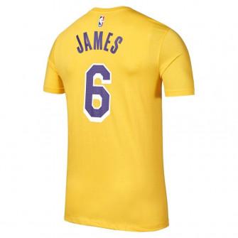 Kratka majica Nike NBA LeBron James Los Angeles Lakers T-Shirt ''Amarillo''
