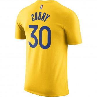 Kratka majica Air Jordan NBA Stephen Curry Warriors Statement Edition ''Amarillo''