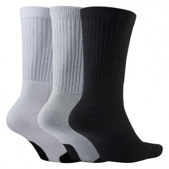 Čarape Nike Basketball Everyday Crew 3-Pack ''White/Grey/Black''