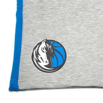 Kratke hlače New Era NBA Dallas Mavericks Contrast Panel ''Grey/Blue''