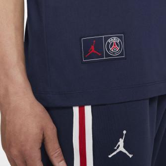 Kratka majica Air Jordan Paris Saint-Germain Wordmark ''Midnight Navy''