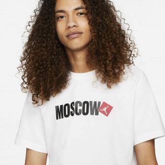 Kratka majica Air Jordan Moscow Print ''White''