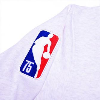 Majica Nike NBA Boston Celtics Courtside Crew ''Birch Heather/White-Clover''