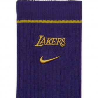 Čarape Nike NBA Los Angeles Lakers Courtside Crew ''Field Purple''