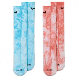Čarape Nike Everyday Plus Tie-Dye Crew ''Blue/Red''
