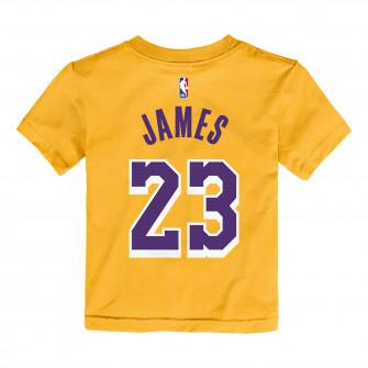 Dječja kratka majica Nike NBA Los Angeles Lakers Lebron James ''Amarillo''