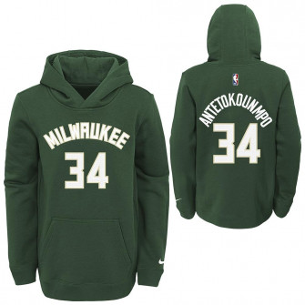 Dječji hoodie Nike NBA Milwaukee Bucks Giannis Antetokounmpo ''Green''