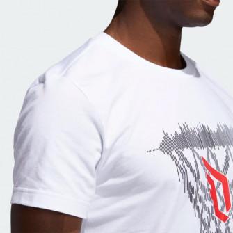 Kratka majica adidas Dame Logo ''White''