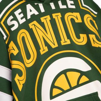 Hoodie M&N NBA Seattle SuperSonics Substantial Fleece ''Green''