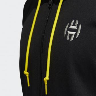 Hoodie adidas Harden Full-Zip Fleece ''Black''